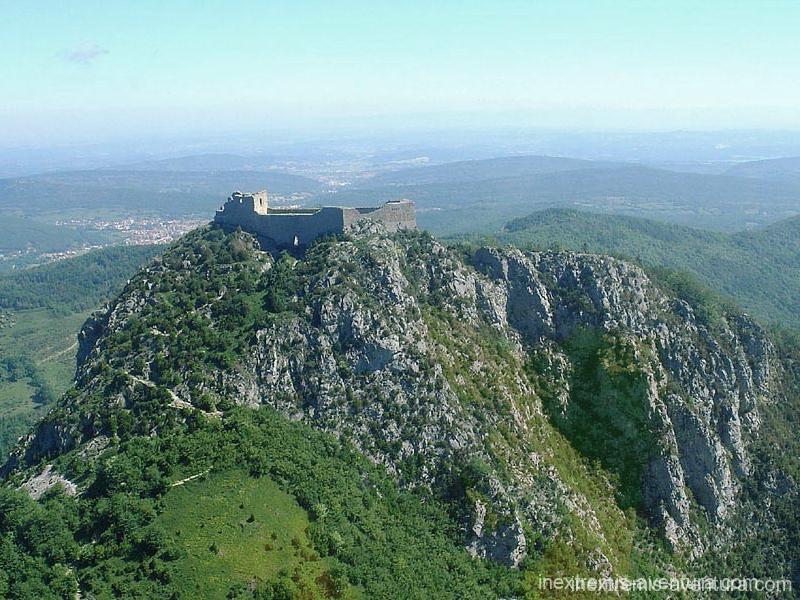 Rando sentier chateaux cathares - Montségur - Ariège