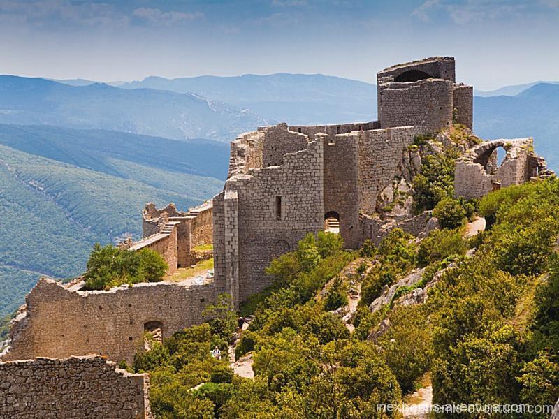 Rando sentier chateaux cathares - Peyrepertuse - Aude