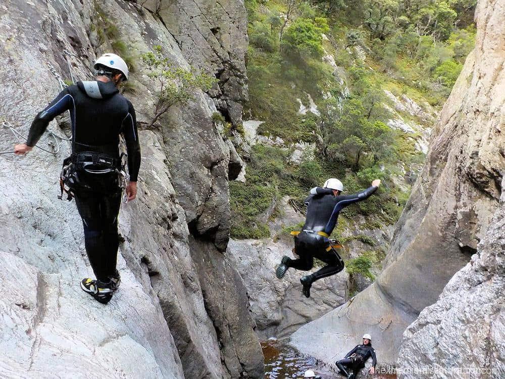 Canyoning Gourg des Anelles - Céret - Pyrénées Orientales