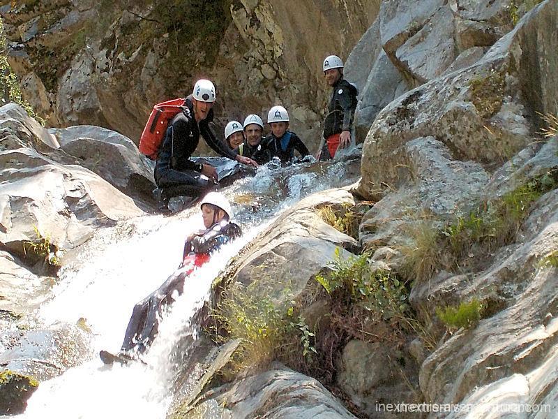 Canyoning Famille au Terme à Amélie les Bains - Pyrénées Orientales