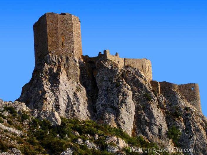 Randonnée le sentier des châteaux cathares