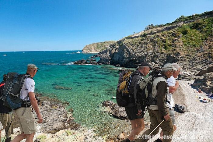Randonnée Collioure Cadaquès - Sentier du littoral - Pyrénées Orientales - Costa Brava - France - Espagne