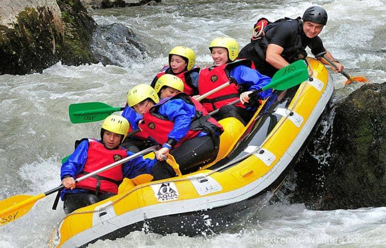 Rafting dans l'Aude