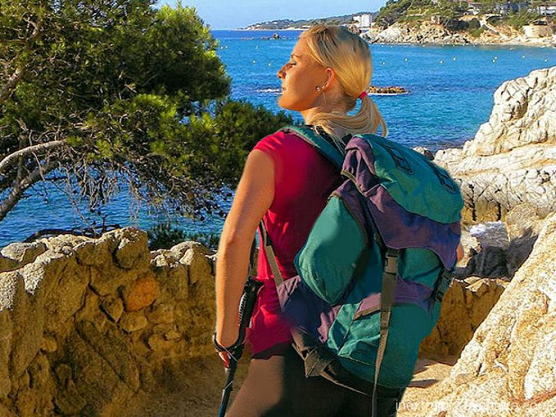 Randonnée Cami de Ronda Sant Feliu de Guixols - Costa Brava - Catalogne - Espagne