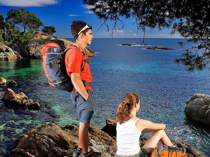 Randonnée Cami de Ronda - Sant Feliu de Guixols - Begur
