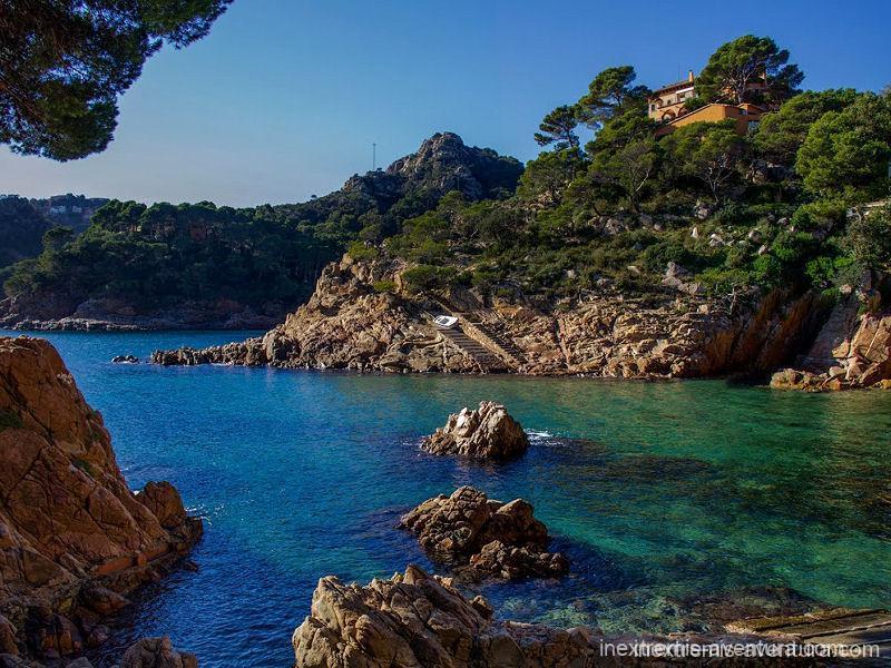 Randonnée Cami de Ronda Sant Feliu de Guixols - Begur - Costa Brava - Catalogne - Espagne