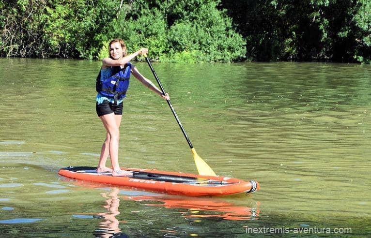 Stand up Paddle sur l'Aude