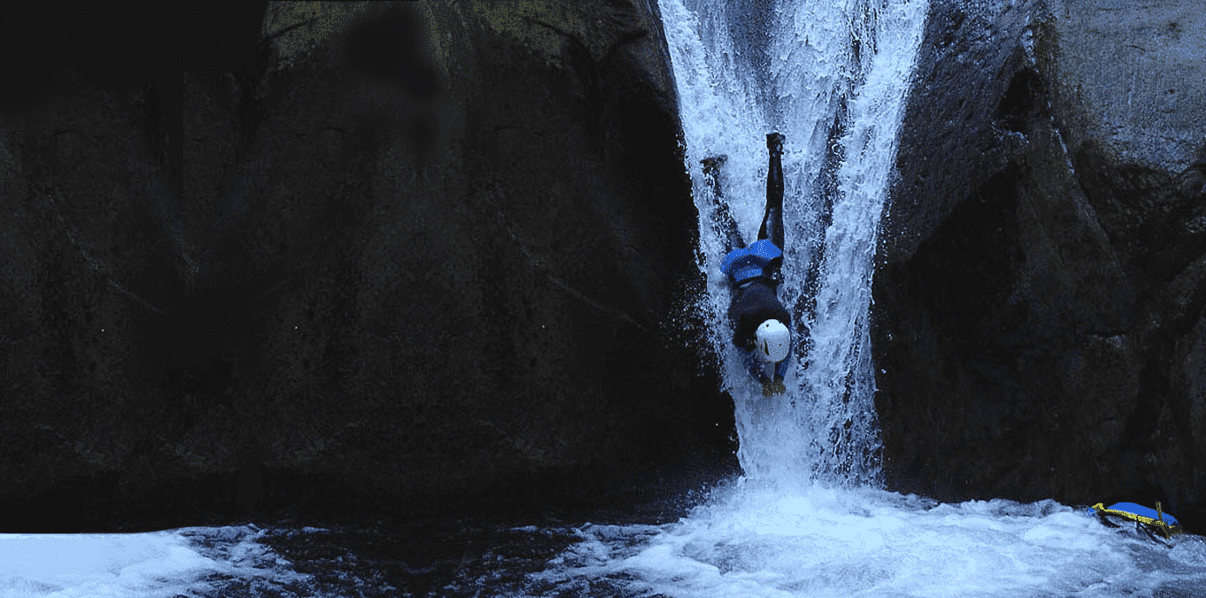 Canyoning au Llech - Pyrénées Orientales