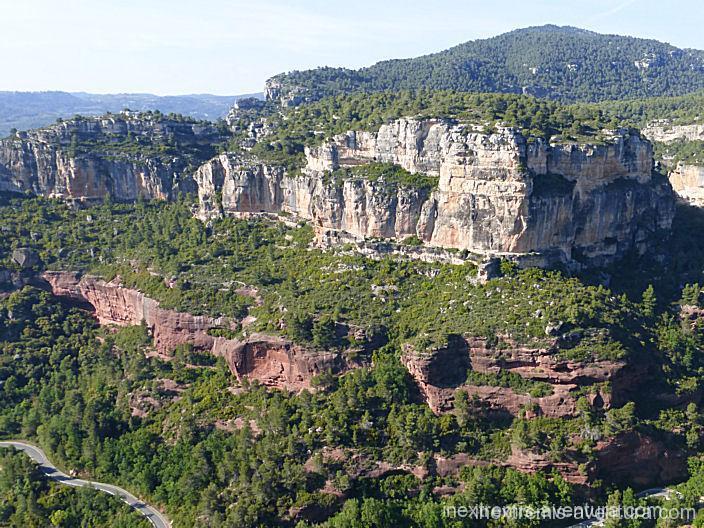 Escalade Suriana Margalef - Catalogne - Espagne