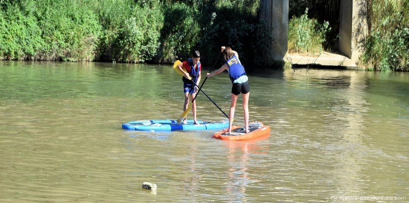 Stand up Paddle sur l'Aude