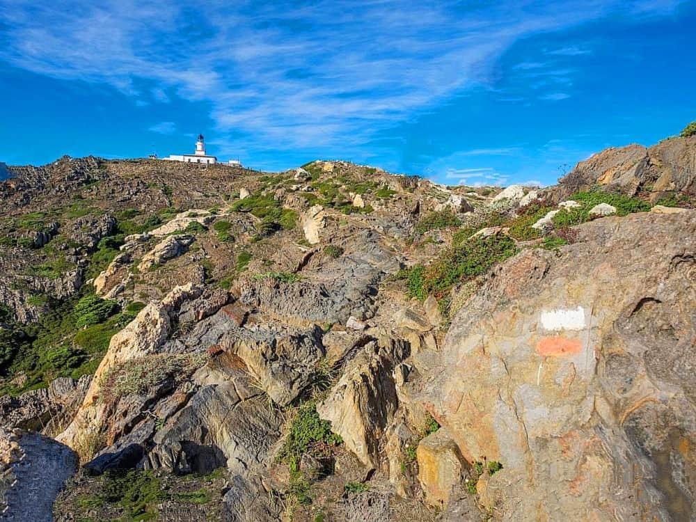 Randonnée Cadaqués Tour du Cap de Creus Costa Brava - Espagne