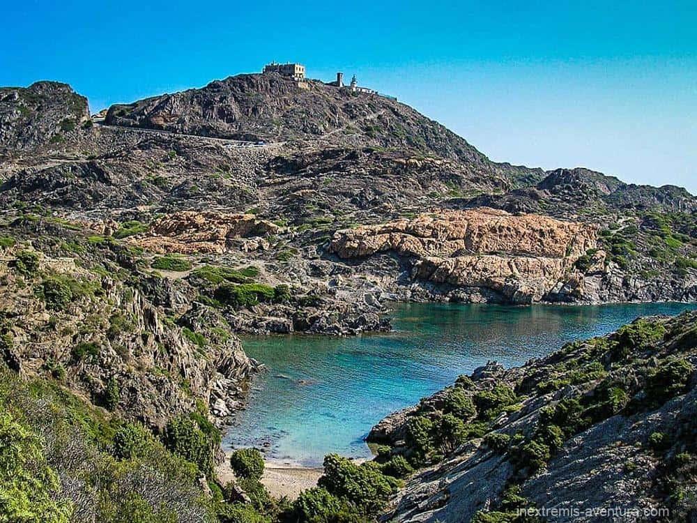 Randonnée Cadaqués Tour du Cap de Creus Costa Brava - Norfeu - Espagne