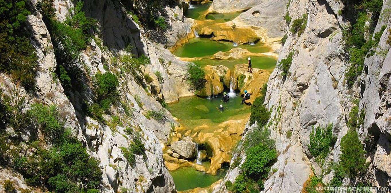 Canyoning à Galamus - Saint Paul de Fenouillet - Pyrénées Orientales